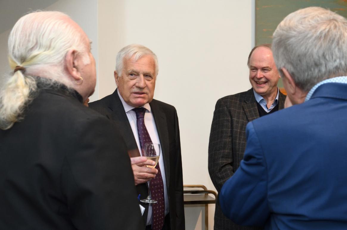 Václav Klaus přijal pozvání Spolku Spravedlnost