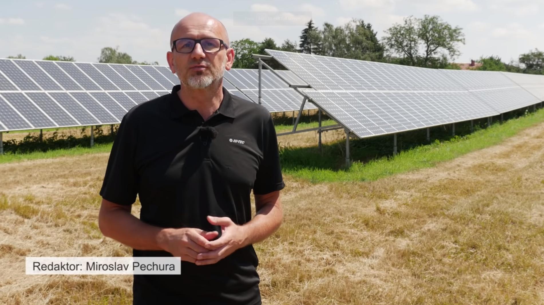 Reportér Miroslav Pechura mapuje chomutovskou solární kauzu