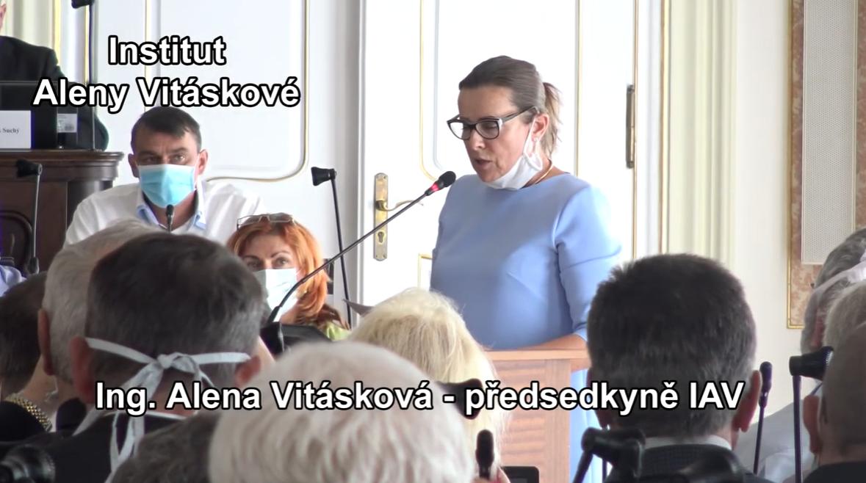 Video ze setkání s Alenou Vitáskovou z 14.9.2020